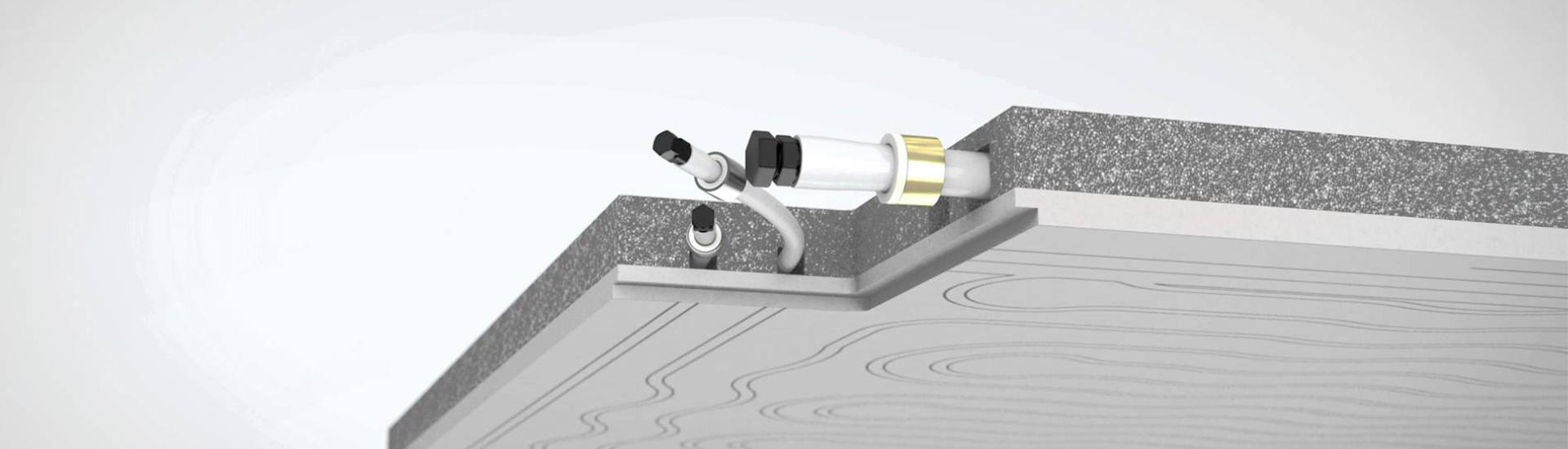 Riscaldamento A Soffitto Prezzo impianto radiante a soffitto